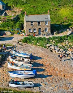 Penberth Cove, Cornwall ...♥♥...