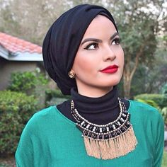 Back in stock our light viscose hijab in black. www.uniquehijabs.com @omayazein
