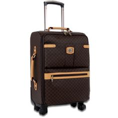 Rioni Signature Designer 21-inch Carry On Fashion Spinner Upright