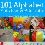 Back to School with 101 Alphabet Activities and Printables