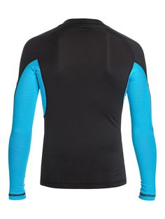 Performer LS - Langarm-Surf-T-Shirt für Männer  Dieses Langarm-Surf-T-Shirt kommt mit 6 Oz. [170 g / m2] Stoff und ist die perfekte Ergänzung zu der Quiksilver Frühjahrs Kollektion 2015. Weitere Features sind: ein UPF 50 + UV-Sonnenschutz und ein Quiksilver-Logo.  Merkmale:  Langarm-Surf-T-Shirt, UPF 50 + UV-Sonnenschutz, Quiksilver-Logo, Kollektion Frühjahr 2015,  ...