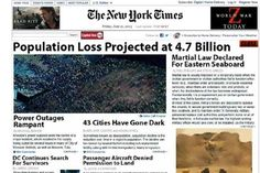 On June 21 the popular news site was temporarily taken over by an ad for the zombie flick World War... #NYT