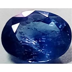 Natural Blue  Sapphire oval