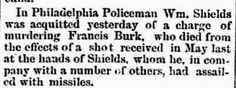 Genealogical Gems: On This Day: Philly cop acquitted of murder http://genealogybyjeanne.blogspot.com/2015/03/on-this-day-philly-cop-acquitted-of.html?spref=tw #OnThisDay