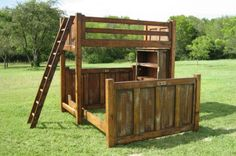 cowboy bunkbeds | Found on taylored4tx.com