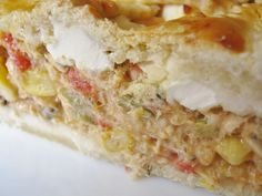 E esta receita ocupa o quarto lugar!  Torta Cremosa de Frango (Creamy Chicken Pie) http://noemiamartins.blogspot.pt/2009/08/torta-cremosa-de-frango-um-longo-post.html