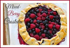 Mixed-Berry Crostata by whatscookingwithruthie.com