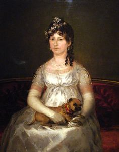 Shop for Portrait Of Dona Francisca Vicenta Chollet Y Caballero by Francisco De Goya Animals Art Print. Get free delivery On EVERYTHING* Overstock - Your Online Art Gallery Store! Spanish Painters, Spanish Artists, Pugs, Francisco Jose, Old Pug, Pug Art, 1800s Fashion, Old Master, Fashion Plates