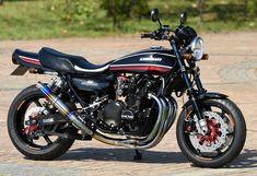RCM-440 / Z1 Cb 600, Street Tracker, Honda Cb, Classic Bikes, Kawasaki Ninja, Sport Bikes, Custom Bikes, Cool Bikes, Cars And Motorcycles