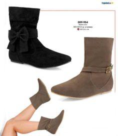 Botas cortas aterciopeladas para mujer, moda 2018, zapatos