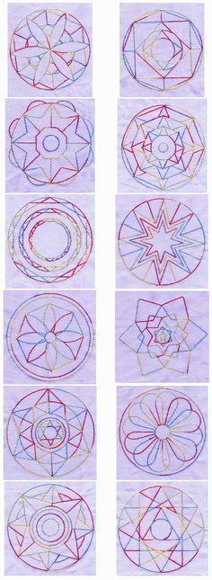 Mandala Quilt Blocks