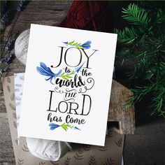 Christmas Quotes Poster,Joy to the world,Printable Christmas quote,Christmas Song Print,Instant Down Funny Bible Verses, Christian Christmas Songs, Happy People Quotes, Joy To The World, Christmas Quotes, Super Quotes, Quote Posters, Christmas Printables, Encouragement Quotes