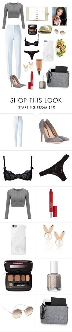 """""""Untitled #11"""" by sigal3995 ❤ liked on Polyvore featuring Nina Ricci, Gianvito Rossi, L'Agent By Agent Provocateur, Honeydew Intimates, Revlon, Native Union, Aamaya by priyanka, Bare Escentuals, Louis Vuitton and Essie"""
