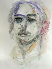 """Disegnare l'umanità nelle sue infinite sfaccettature mi aiuta a vedere e integrare gli infiniti aspetti della mia personalità, come dice Vincent Van Gogh """"L'Arte del ritratto mi permette di sviluppare quanto di meglio e più profondo c'è in me"""". Di volti ne ho fatti diverse centinaia, qui alcuni esempi mischiati in maniera casuale. Quelli realizzati con tecnica mista su carta comprendono un periodo che va dal 2010 al 2014 con tutte le sue evoluzioni nel cambiamento di stile."""