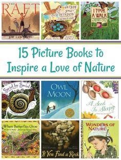 Preschool books - 15 Picture Books to Inspire a Love of Nature in Children – Preschool books Toddler Books, Childrens Books, Homeschool Books, Homeschooling, Montessori Books, Kids Reading, Reading Books, Kid Books, Reading Lists