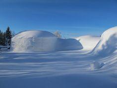 Snow Village in Finnish Lapland