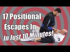 17 BJJ Positional Escapes In 10 Min - Mount & Back Mount - Jason Scully - YouTube