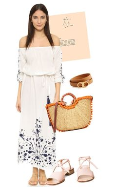 """dress"" by masayuki4499 ❤ liked on Polyvore featuring Pampelone, Sam Edelman and Tory Burch"
