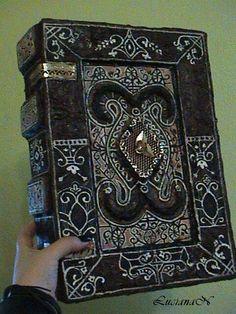 Occult Book by LucianaNedelea.deviantart.com on @deviantART