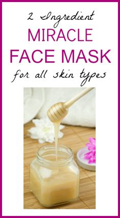 Miracle Face Mask - Only 2 Ingredients!   Seeds Of Real HealthSeeds Of Real Health  