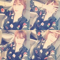 SNSD Tiffany's beauty blooms in her latest updates ~ Wonderful Generation
