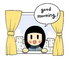 LINE Official Stickers - Animated Smile Brush: Winter Edition Example with GIF Animation Good Morning Gift, Good Morning Greetings, Good Morning Gif Animation, Hi Gif, Good Morning Gif Images, Viernes Gif, Night Gif, Cute Love Gif, Good Morning Inspirational Quotes