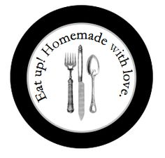 Free Homemade Food Gift Label Printable (using @Avery Round Labels).  Just in time for all that seasonal baking I am going to do in a few months!