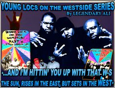"📚 ""NOW I GOT TO SHOW YOU HOW THE WESTSIDE ROCKS, No Razor Blades 🔪 in my mouth 👄 just a Glock"" 🔫 ""YOUNG LOCS on the WESTSIDE PART I & PART II Still Locin Up!"" A True Live WESTSIDE Story told by Legendary Ali ☝Cop this joint today! Amazon & Over the Edge Books #WestcoastWednesday #younglocspart2 #literature #bookstagram #westsideconnection #gangsta #crips #bloods #bangin #mayhem #novels #legendaryali #hood #hoodclassic LOCS TRAILER: https://youtu.be/CrMikrQfQXY"