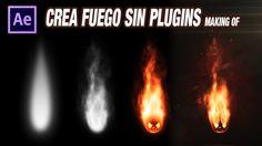 VFX breakdown Fuego sin plugins con after effects by @ildefonsosegura