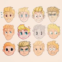 Image result for how to draw disney male hair style
