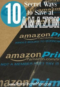 This is a MUST PIN! These are the simplest tips you can follow to save on Amazon including quick links to all of the pages - including coupons!!!