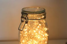 IKEA Hack | Fairy Light Mason Jar | Daydream in Blue