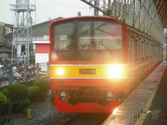 Ex JR 205 Hae XX. Depok Station