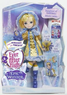 Blondie Lockes - Ever After High Epic Winter Doll PRE-ORDER