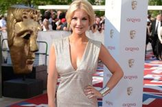 Helen Skelton in a much better dress and hairstyle