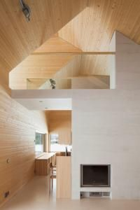 House Riihi by OOPEAA - IGNANT architects companies architecture design architecture architecture arch design Wood Architecture, Architecture Details, Parametric Architecture, Drawing Architecture, Architecture Portfolio, L Shaped House, Wood Interiors, House In The Woods, Interior And Exterior