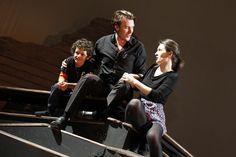 Haydn's La vera costanza in rehearsal. © Royal Academy of Music, November 2012