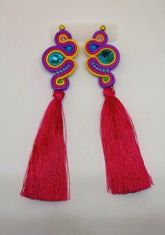 Jewelry Making, Brooch, Drop Earrings, Handmade, Dyi, Jewellery, Fashion, Needlepoint, Accessories