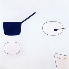 William Scott, Past Reference, 1974, Oil on canvas, 102 × 102 cm / 40¼ × 40¼ in, Private collection
