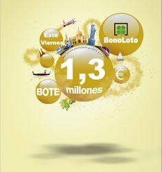 Bonoloto, Bote 1.300.000€, Viernes 18/05/2012