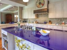 1000 images about countertop pics on pinterest blue for Most expensive kitchen countertops