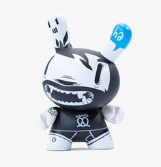 Kidrobot Dunny by McBess Vinyl Toys, Designer Toys, Paper Toys, Rock Music, Vinyl Figures, Doll Toys, Minnie Mouse, Character Design, Disney Characters