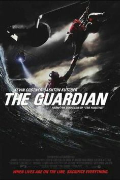 THE GUARDIAN (2006) Kevin Costner, Ashton Kutcher, Sela Ward, Clancy Brown - Great movie about the sacrifices made by our US Coast Guard ❤