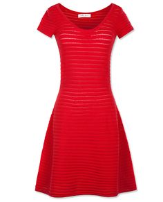 #SayItWithColor: Red - Sandro Dress from #InStyle
