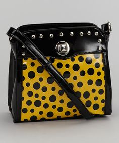 Take a look at this Yellow Phoebe Crossbody Bag on zulily today!