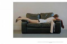 Iris Landstra by Olgac Bozalp for L'Officiel Italia April 2017 Fashion Advertising, Fashion News, Fashion Photography, Couch, Street Style, Iris, Creative, Editorial, Furniture