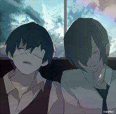 Kaneki e Touka - Tokyo Ghoul | By Sui Ishida 石田スイ (@sotonami) |