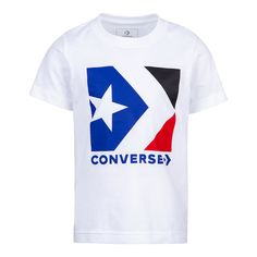Boys 8-20 Converse Star Chevron Tee, Size: Large, White
