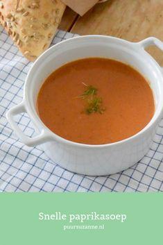Snelle paprikasoep - Puur Suzanne. | FOOD & LIFESTYLE