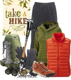 """Take A Hike"" by sassafrasgal on Polyvore"